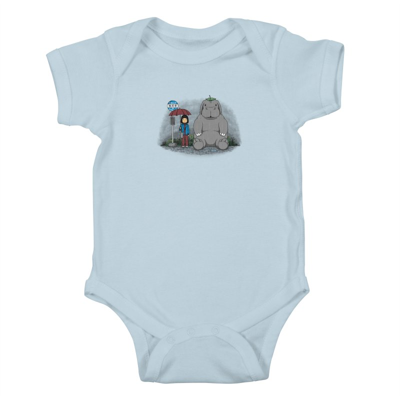My Super Pig Kids Baby Bodysuit by Pigboom's Artist Shop