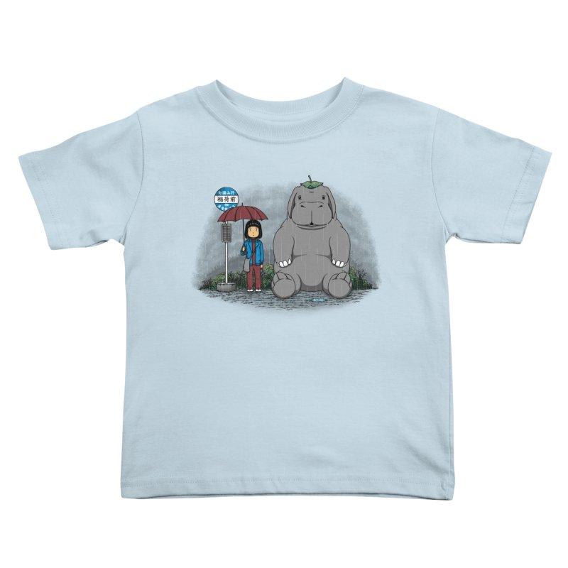 My Super Pig Kids Toddler T-Shirt by Pigboom's Artist Shop