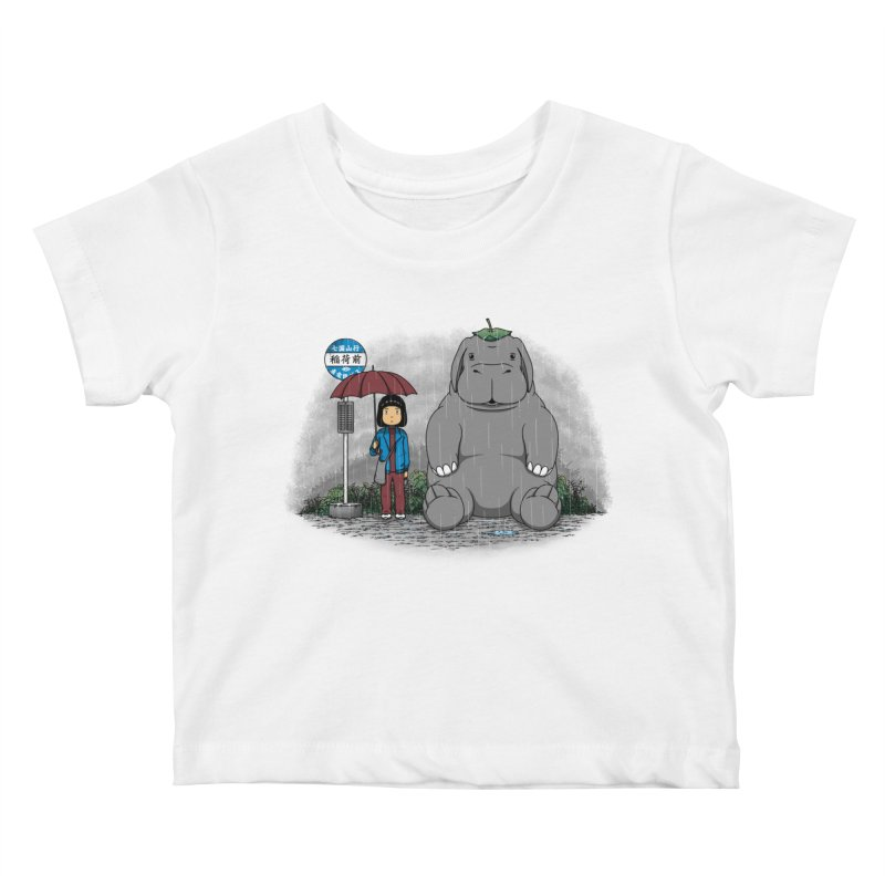 My Super Pig Kids Baby T-Shirt by Pigboom's Artist Shop