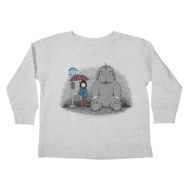 My Super Pig Kids Toddler Longsleeve T-Shirt by Pigboom's Artist Shop