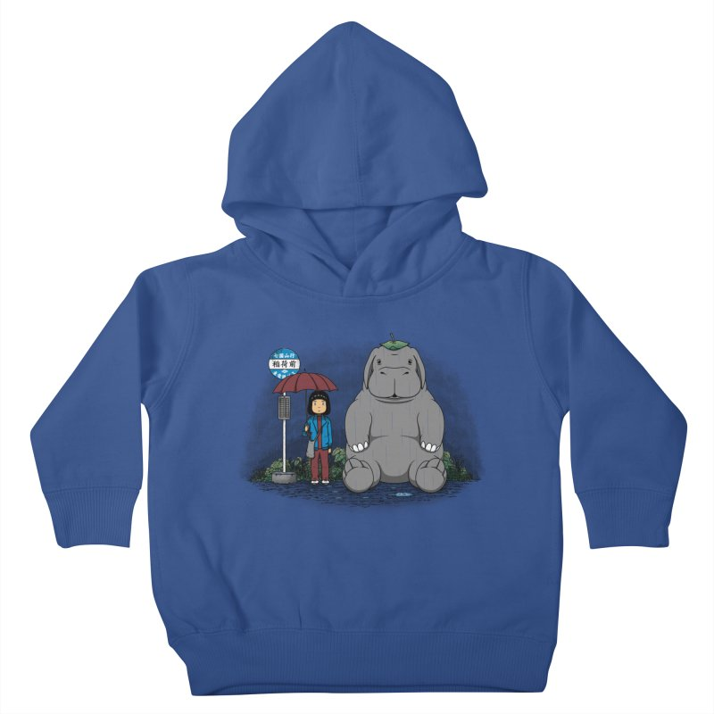My Super Pig Kids Toddler Pullover Hoody by Pigboom's Artist Shop