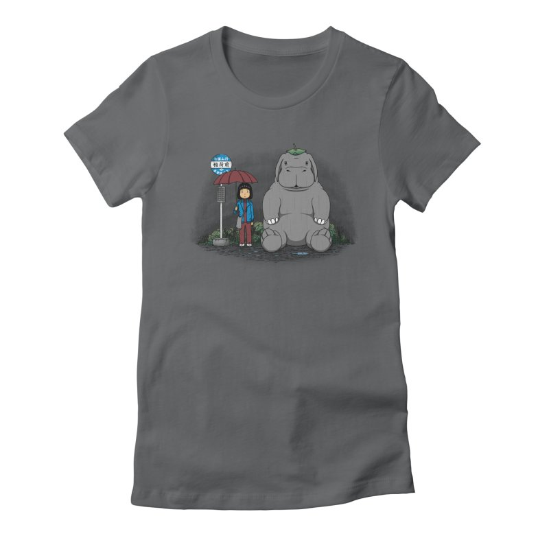 My Super Pig Women's Fitted T-Shirt by Pigboom's Artist Shop
