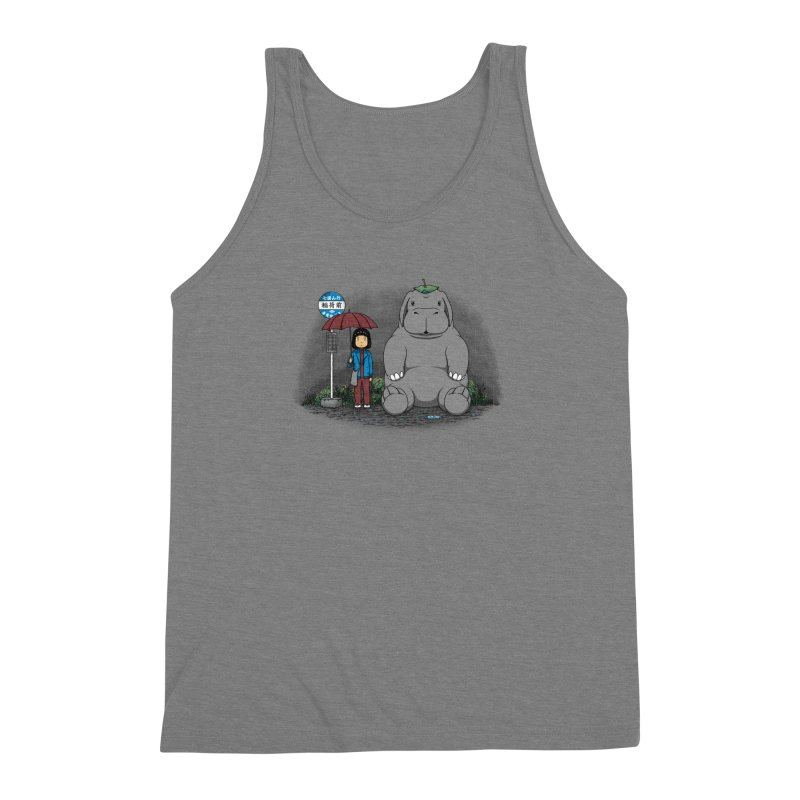 My Super Pig Men's Triblend Tank by Pigboom's Artist Shop