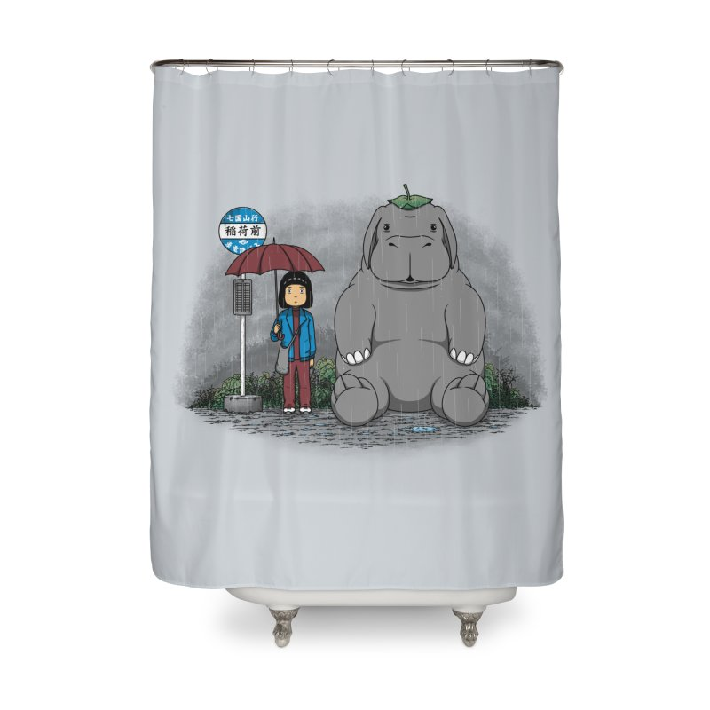 My Super Pig Home Shower Curtain by Pigboom's Artist Shop