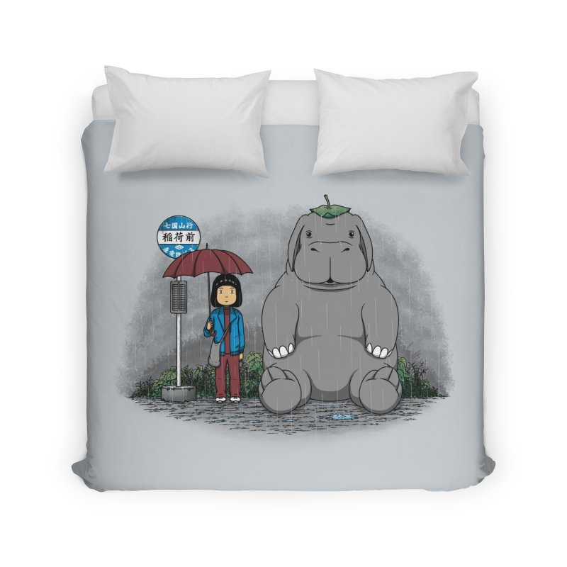 My Super Pig Home Duvet by Pigboom's Artist Shop