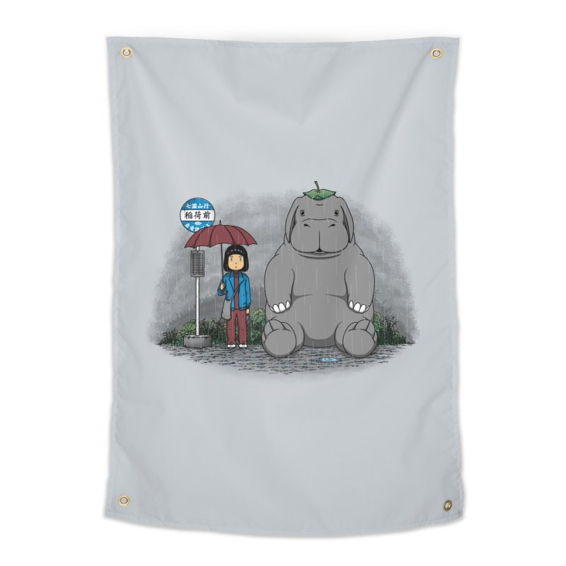 My Super Pig Home Tapestry by Pigboom's Artist Shop