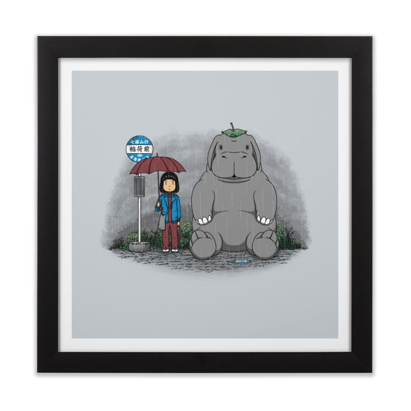 My Super Pig Home Framed Fine Art Print by Pigboom's Artist Shop