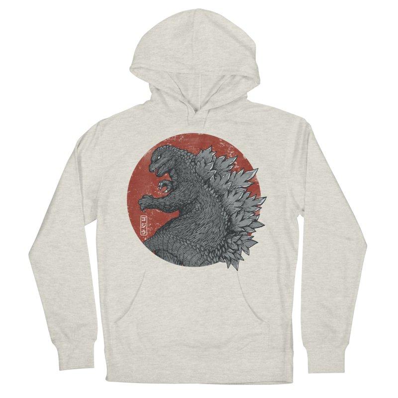 Tokyo Kaiju Men's Pullover Hoody by Pigboom's Artist Shop