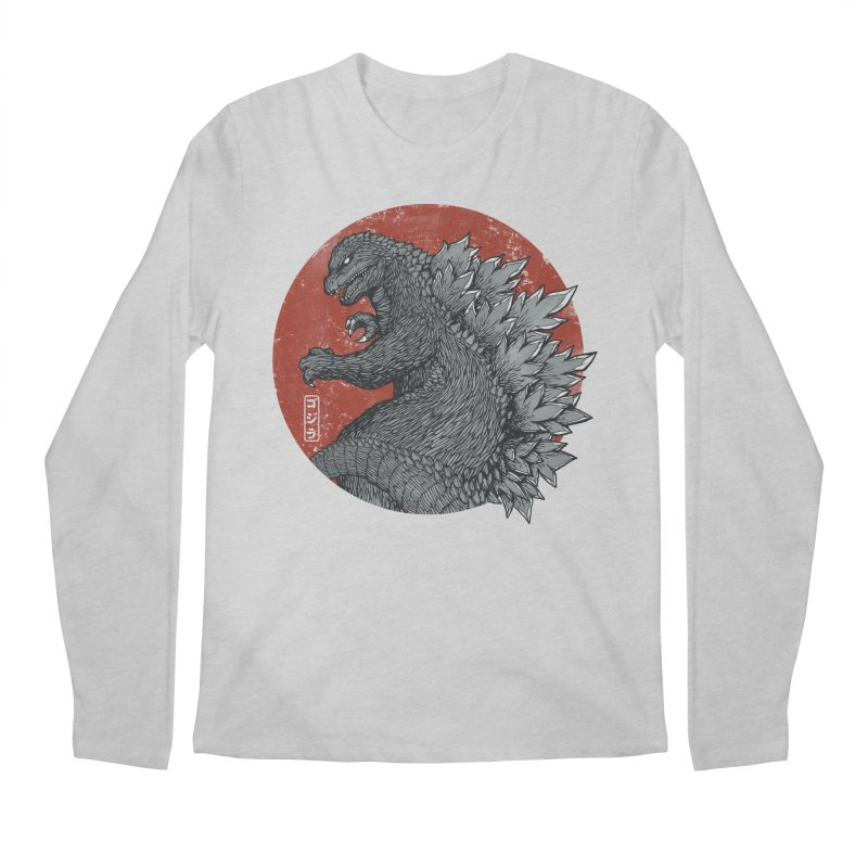 Tokyo Kaiju Men's Longsleeve T-Shirt by Pigboom's Artist Shop