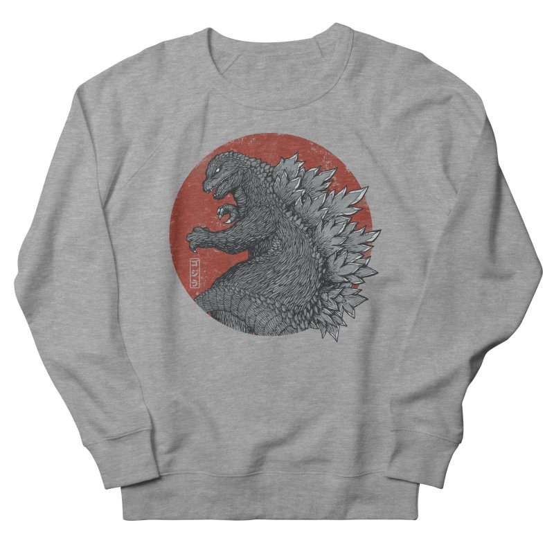 Tokyo Kaiju Women's Sweatshirt by Pigboom's Artist Shop