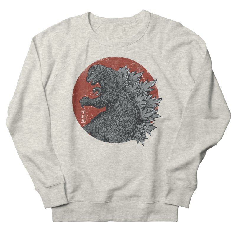 Tokyo Kaiju Men's Sweatshirt by Pigboom's Artist Shop