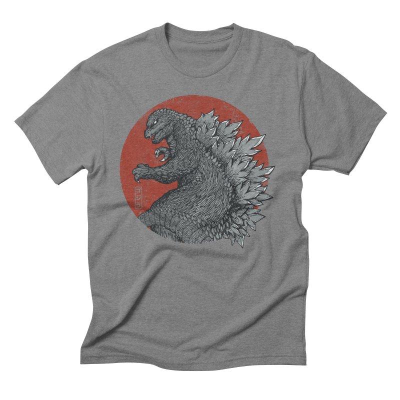 Tokyo Kaiju Men's Triblend T-shirt by Pigboom's Artist Shop