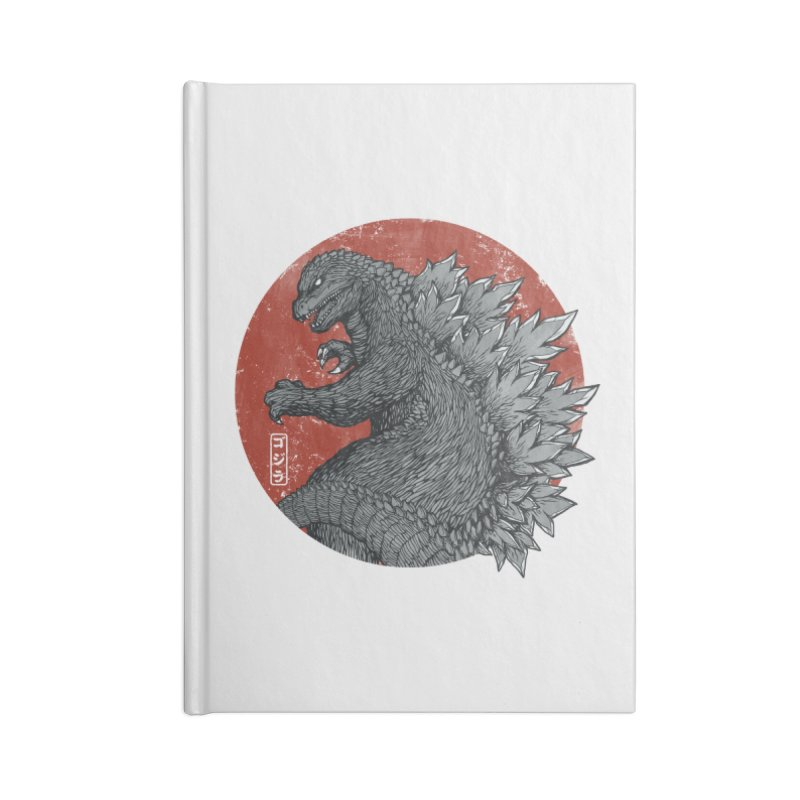 Tokyo Kaiju Accessories Notebook by Pigboom's Artist Shop
