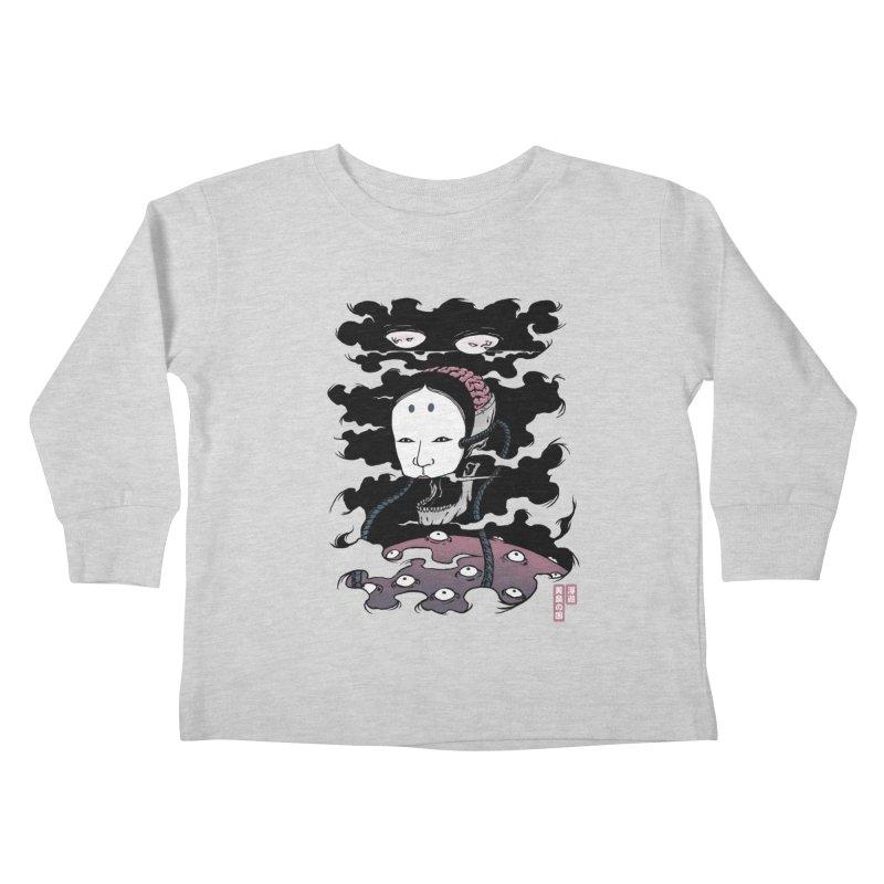 Floating Underworld Kids Toddler Longsleeve T-Shirt by Pigboom's Artist Shop