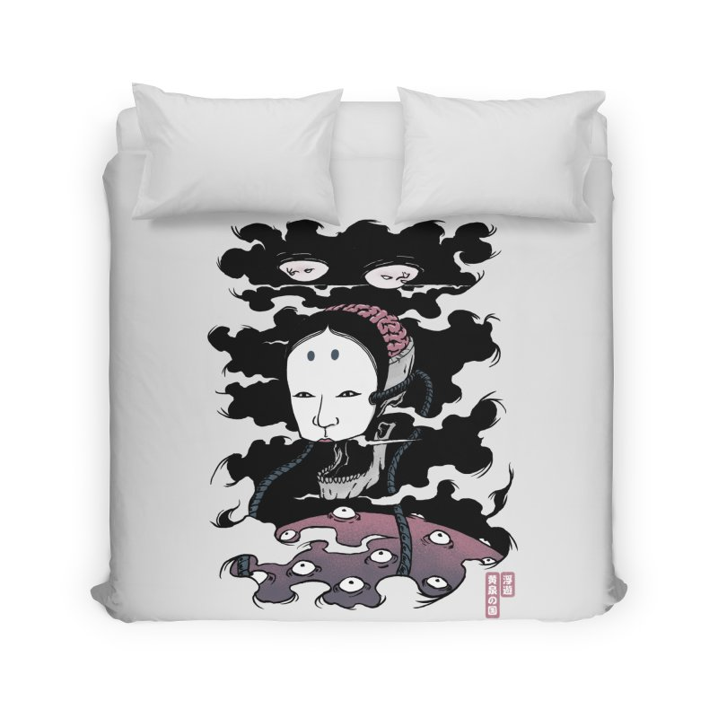 Floating Underworld Home Duvet by Pigboom's Artist Shop