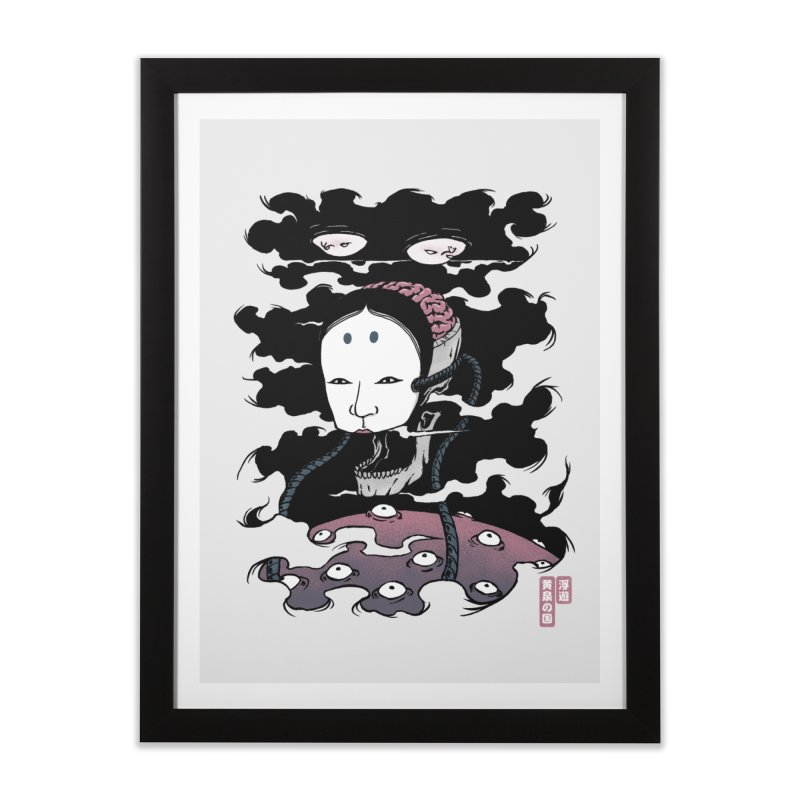 Floating Underworld Home Framed Fine Art Print by Pigboom's Artist Shop