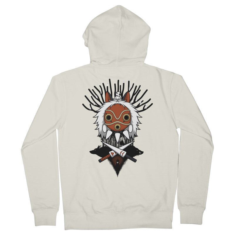 Guardians of the Forest Men's Zip-Up Hoody by Pigboom's Artist Shop