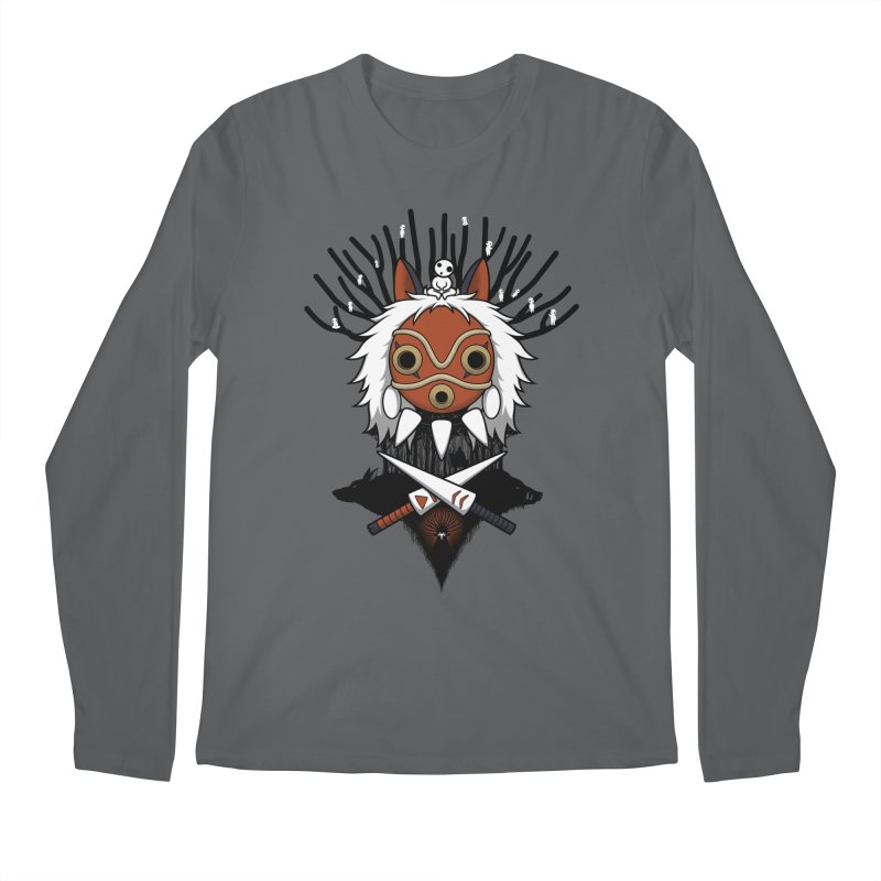 Guardians of the Forest Men's Longsleeve T-Shirt by Pigboom's Artist Shop