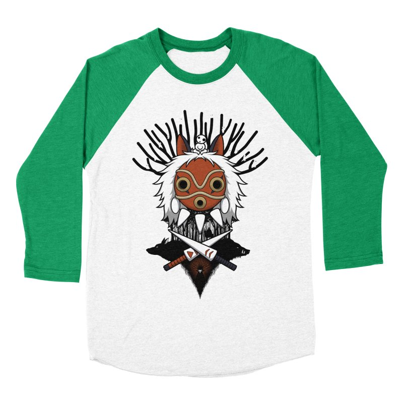 Guardians of the Forest Women's Baseball Triblend T-Shirt by Pigboom's Artist Shop