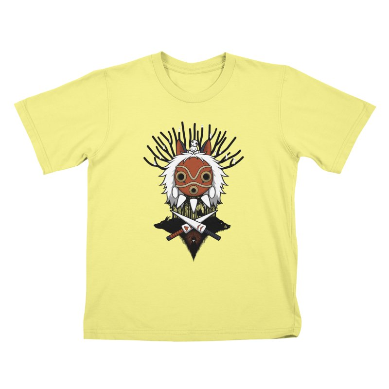 Guardians of the Forest Kids T-shirt by Pigboom's Artist Shop