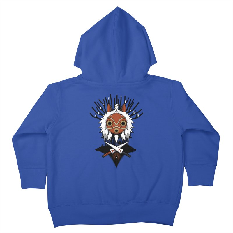 Guardians of the Forest Kids Toddler Zip-Up Hoody by Pigboom's Artist Shop