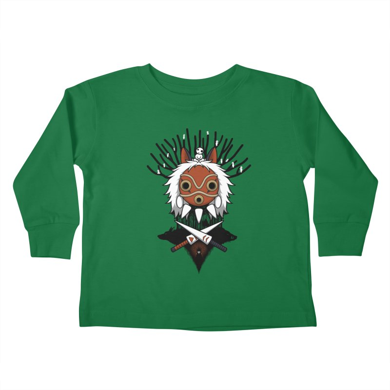 Guardians of the Forest Kids Toddler Longsleeve T-Shirt by Pigboom's Artist Shop