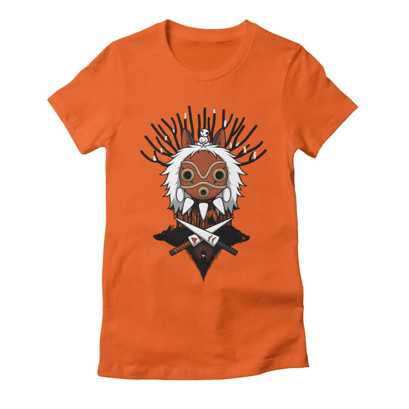 Guardians of the Forest Women's Fitted T-Shirt by Pigboom's Artist Shop