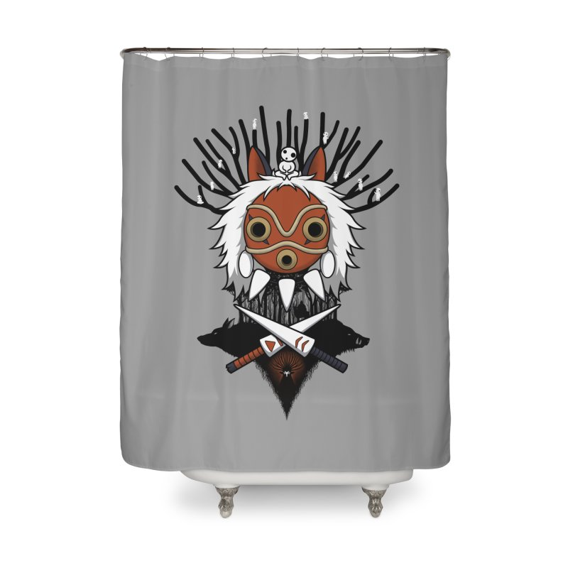 Guardians of the Forest Home Shower Curtain by Pigboom's Artist Shop