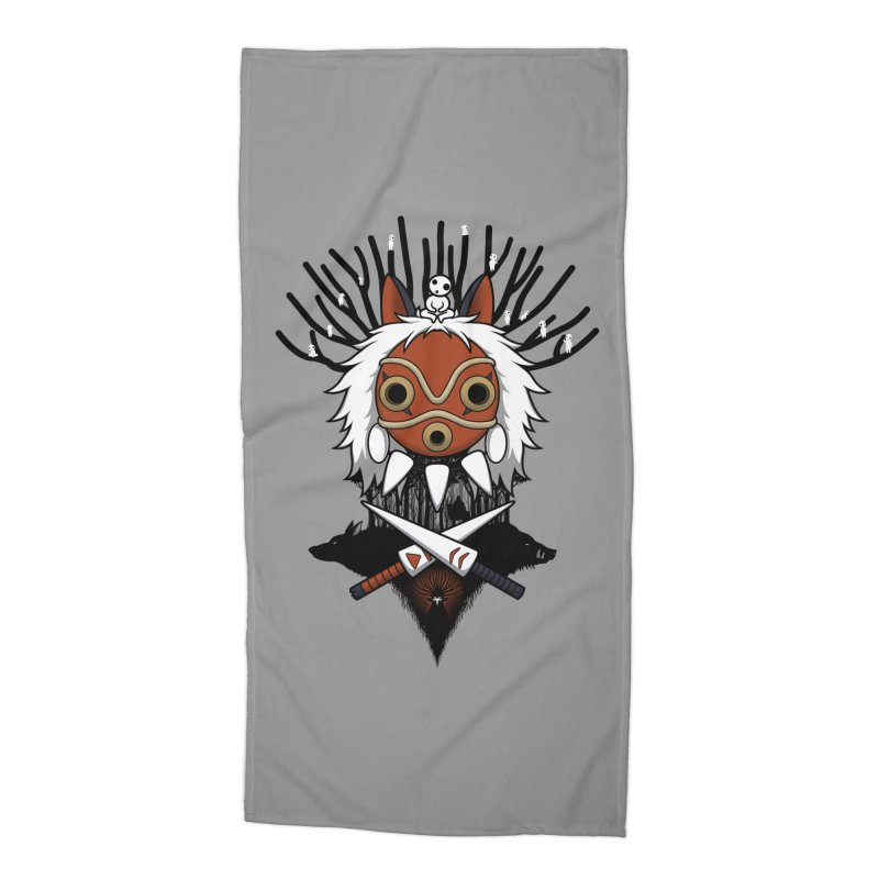 Guardians of the Forest Accessories Beach Towel by Pigboom's Artist Shop