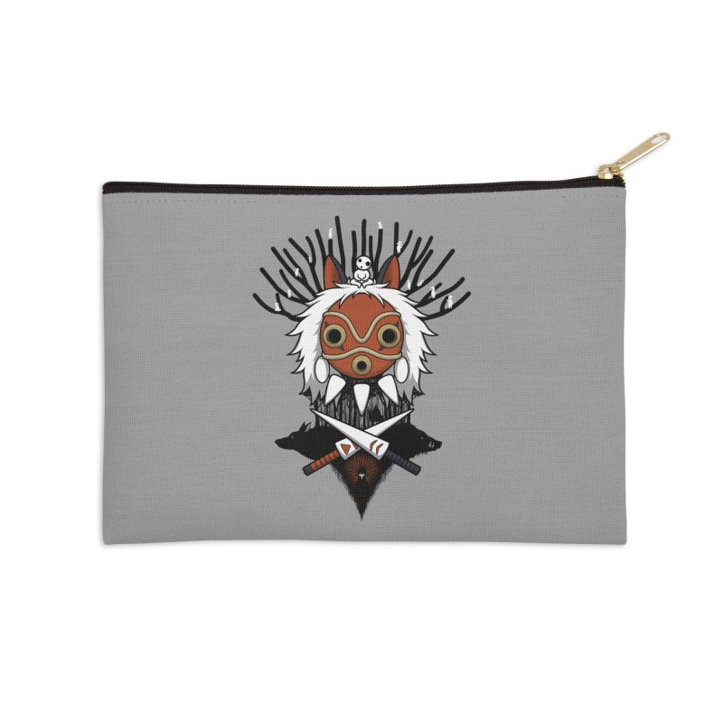 Guardians of the Forest Accessories Zip Pouch by Pigboom's Artist Shop