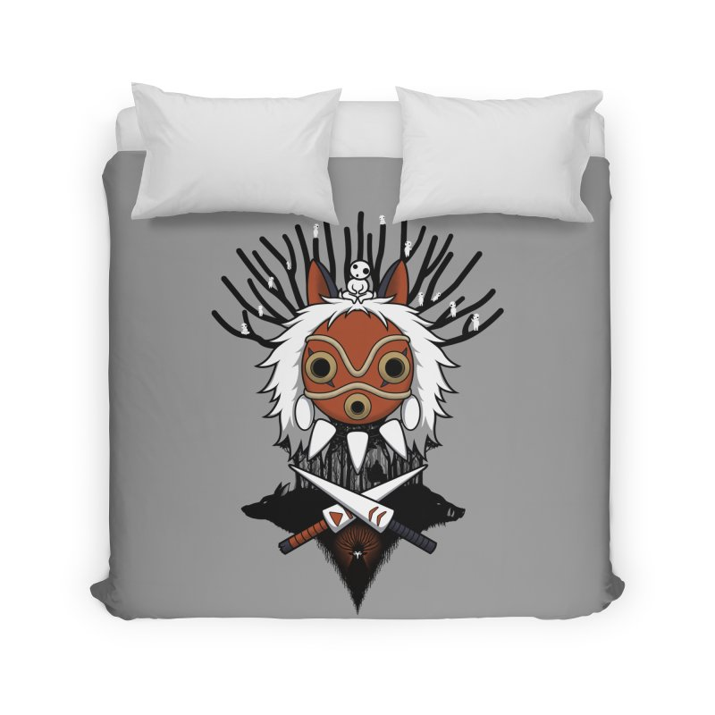 Guardians of the Forest Home Duvet by Pigboom's Artist Shop