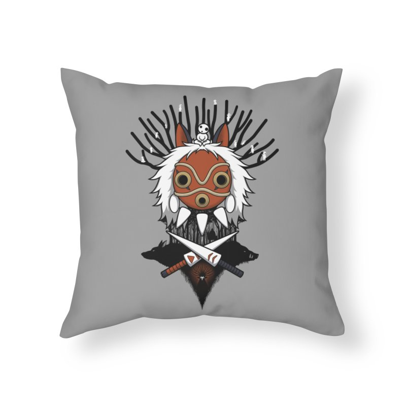 Guardians of the Forest Home Throw Pillow by Pigboom's Artist Shop