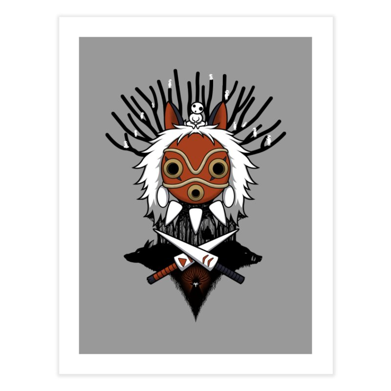 Guardians of the Forest Home Fine Art Print by Pigboom's Artist Shop