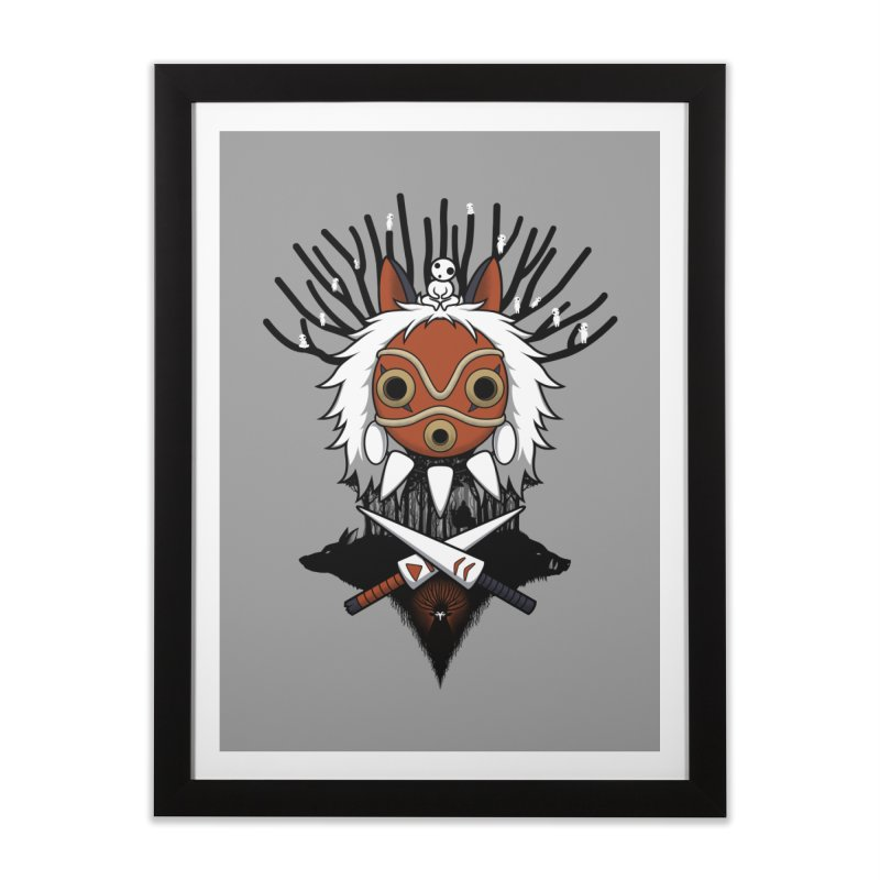 Guardians of the Forest Home Framed Fine Art Print by Pigboom's Artist Shop