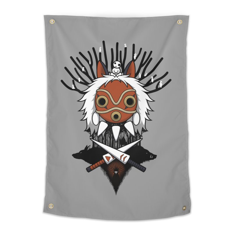 Guardians of the Forest Home Tapestry by Pigboom's Artist Shop