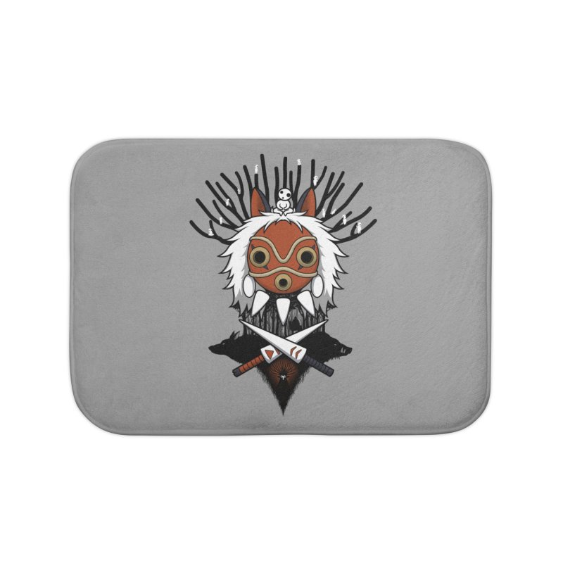 Guardians of the Forest Home Bath Mat by Pigboom's Artist Shop