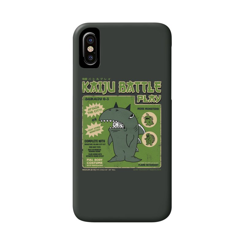 Kaiju Battle Play 03 Accessories Phone Case by Pigboom's Artist Shop