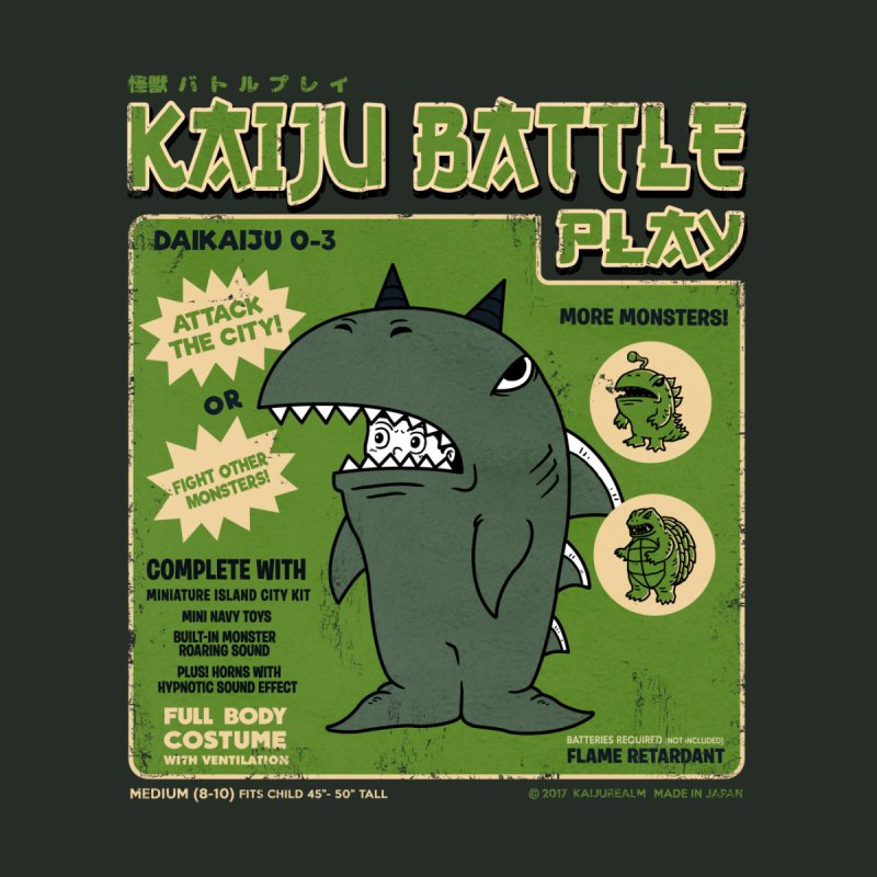 Kaiju Battle Play 03 by Pigboom's Artist Shop