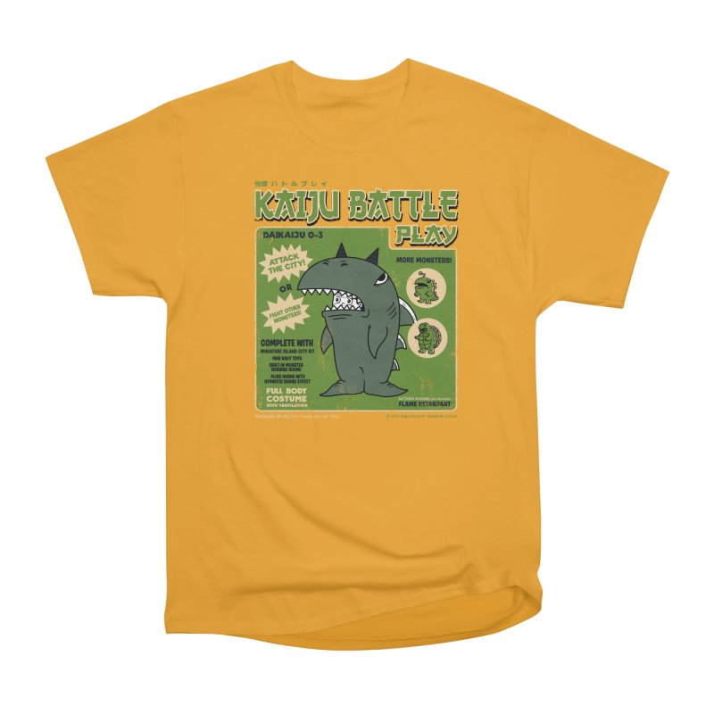 Kaiju Battle Play 03 Men's Classic T-Shirt by Pigboom's Artist Shop