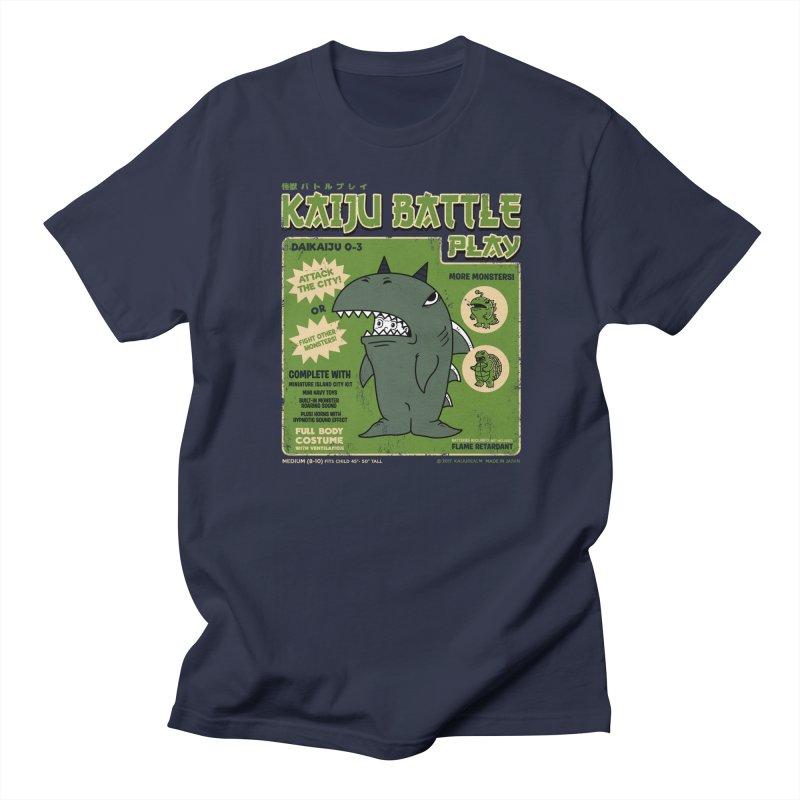 Kaiju Battle Play 03 Men's T-shirt by Pigboom's Artist Shop