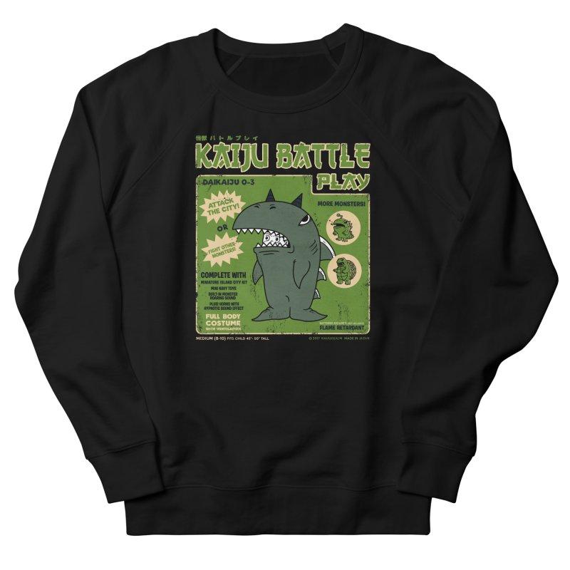 Kaiju Battle Play 03 Men's Sweatshirt by Pigboom's Artist Shop