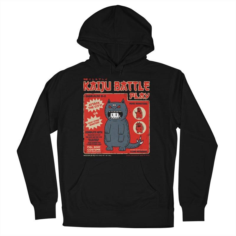 Kaiju Battle Play 02 Women's Pullover Hoody by Pigboom's Artist Shop