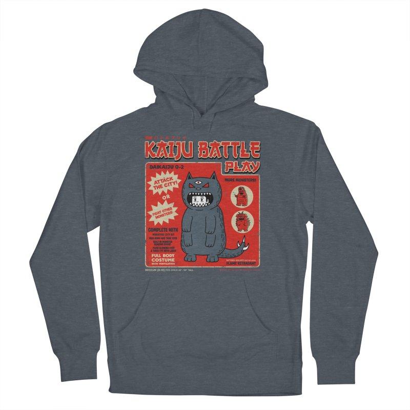 Kaiju Battle Play 02 Men's Pullover Hoody by Pigboom's Artist Shop