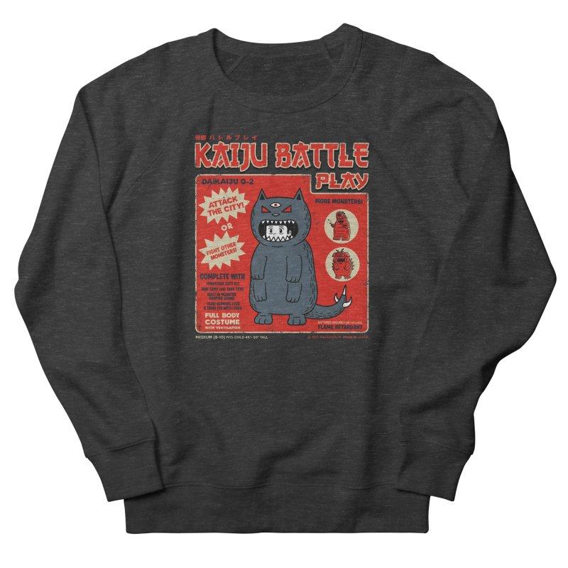 Kaiju Battle Play 02 Men's Sweatshirt by Pigboom's Artist Shop