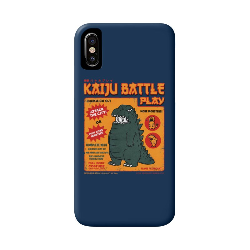 Kaiju Battle Play 01 Accessories Phone Case by Pigboom's Artist Shop