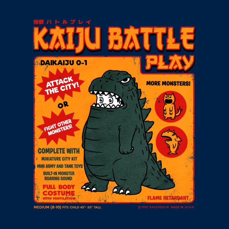 Kaiju Battle Play 01 by Pigboom's Artist Shop
