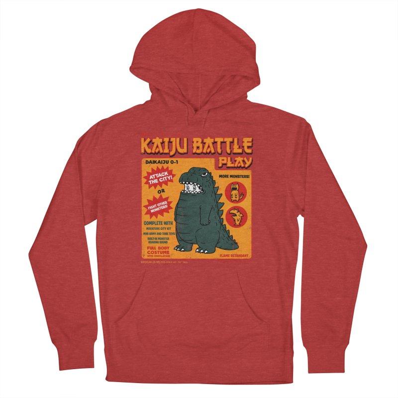 Kaiju Battle Play 01 Women's Pullover Hoody by Pigboom's Artist Shop