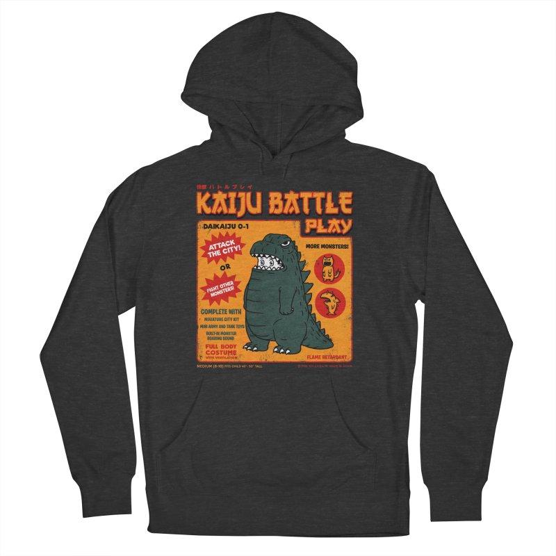 Kaiju Battle Play 01 Men's Pullover Hoody by Pigboom's Artist Shop
