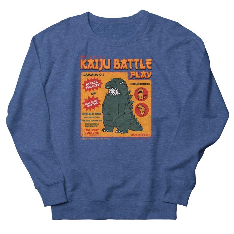 Kaiju Battle Play 01 Men's Sweatshirt by Pigboom's Artist Shop