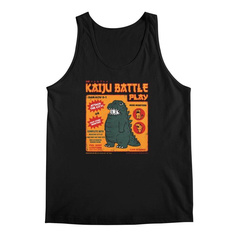 Kaiju Battle Play 01 Men's Tank by Pigboom's Artist Shop